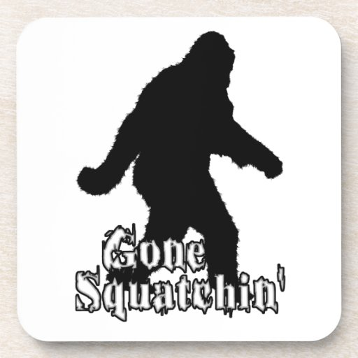 Gone Squatchin' Beverage Coasters
