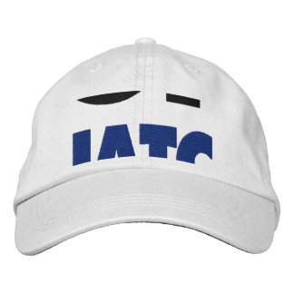 Gone Squatchin Bigfoot Hiding In Woods Embroidered Baseball Hat