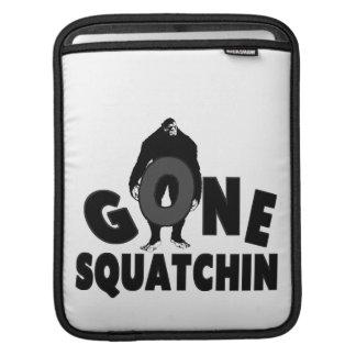 Gone Squatchin - Bigfoot holding O Sleeve For iPads