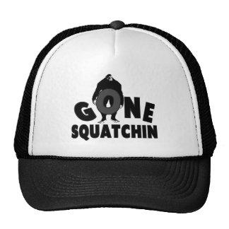 Gone Squatchin - Bigfoot holding O Trucker Hat