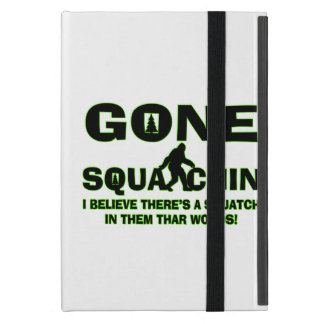 Gone Squatchin Bigfoot In Woods Case For iPad Mini