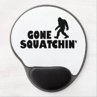 Gone Squatchin   Bigfoot Sasquatch Gel Mouse Pad