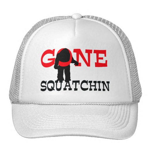 Gone Squatchin Bigfoot Trapped Hat