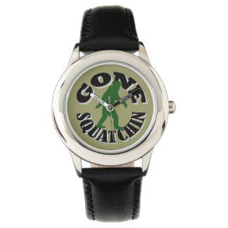 Gone Squatchin bigfoot Wrist Watch