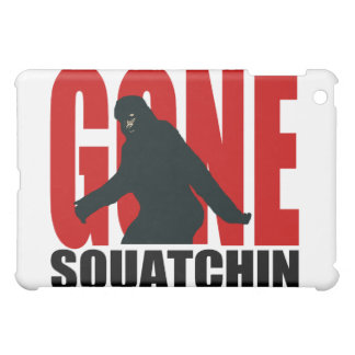 Gone Squatchin - Black and Red Case For The iPad Mini