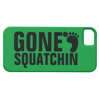 GONE SQUATCHIN BLACK GREEN iPhone 5 CASE