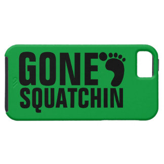 GONE SQUATCHIN BLACK GREEN iPhone 5 COVERS