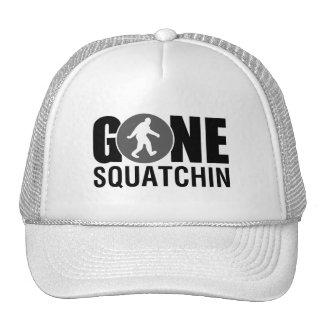 Gone Squatchin Blue Trucker Hat