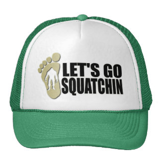 Gone Squatchin: Bobo will never find Bigfoot Hats