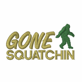 Gone Squatchin - Brown and Green stitching