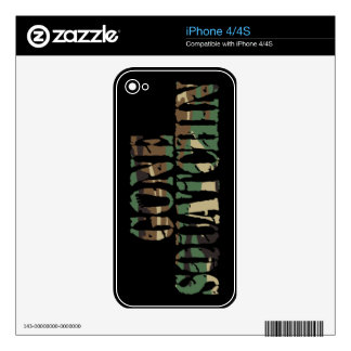 GONE SQUATCHIN Camo iPhone 4/4S Skin iPhone 4 Decal