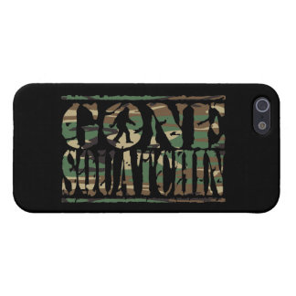 GONE SQUATCHIN CAMO CASES FOR iPhone 5