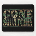 GONE SQUATCHIN CAMO MOUSE PADS