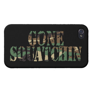 GONE SQUATCHIN CAMOUFLAGE iPhone 4/4S COVER