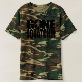 Gone Squatchin Camouflage T-Shirt