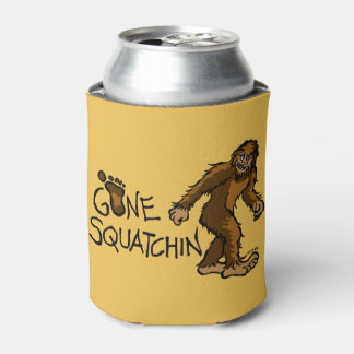 Gone Squatchin Can Cooler