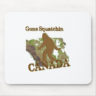 Gone Squatchin - Canada Mouse Pad