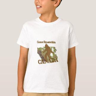 Gone Squatchin - Canada T-Shirt