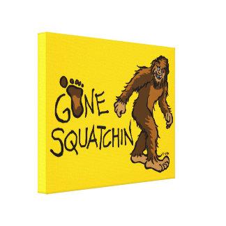 Gone Squatchin Canvas Print
