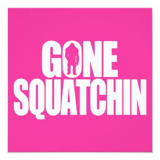 Gone Squatchin Card