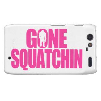Gone Squatchin Motorola Droid RAZR Cases