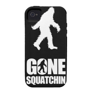 Gone squatchin vibe iPhone 4 case