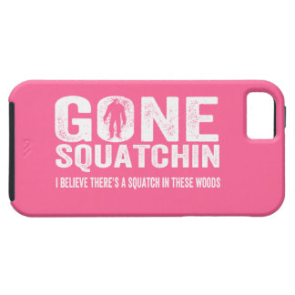 GONE SQUATCHIN  Choose your Color Grunge Text iPhone 5 Cover
