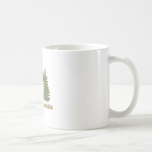 Gone Squatchin Classic White Coffee Mug