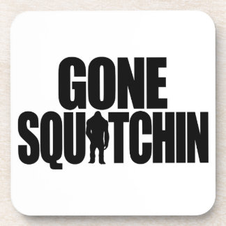 Gone Squatchin Cork Coaster