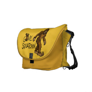 Gone Squatchin Courier Bag