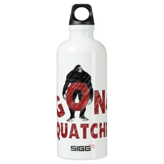 Gone Squatchin - Crayon Style Squatcher Water Bottle