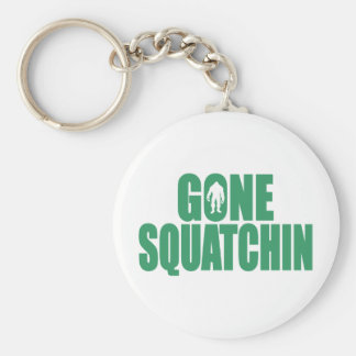 GONE SQUATCHIN *Deluxe* Bobo Gear Finding Bigfoot Basic Round Button Keychain