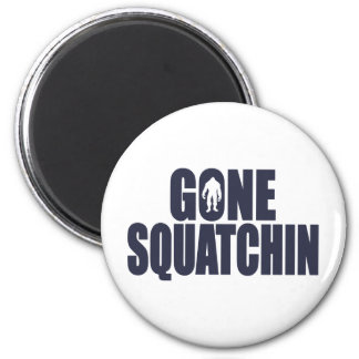 GONE SQUATCHIN *Deluxe* Bobo Gear Finding Bigfoot Magnets