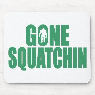 GONE SQUATCHIN *Deluxe* Bobo Gear Finding Bigfoot Mouse Pad
