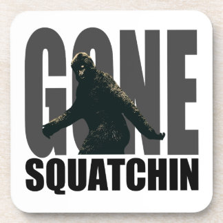 Gone SQUATCHIN - Deluxe Version Drink Coaster