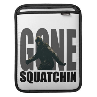 Gone SQUATCHIN - Deluxe Version Sleeves For iPads