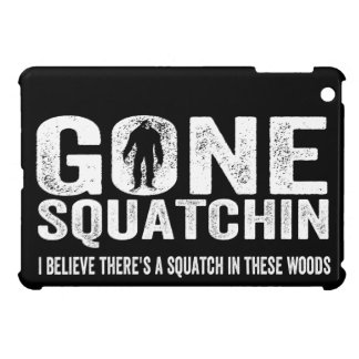 Gone Squatchin Distressed for Dark iPad Mini Cover