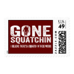 Gone Squatchin (Distressed) Squatch in these Woods Stamp