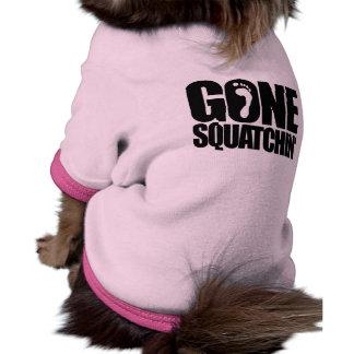 GONE SQUATCHIN' PET SHIRT