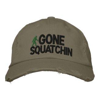 Gone Squatchin embroideredhat