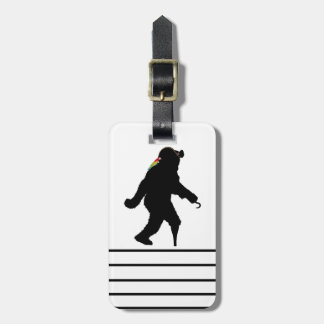 Gone Squatchin' Fer Buried Treasure Tag For Bags