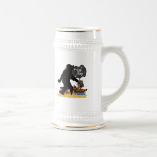 Gone Squatchin' Fer Buried Treasure Coffee Mug