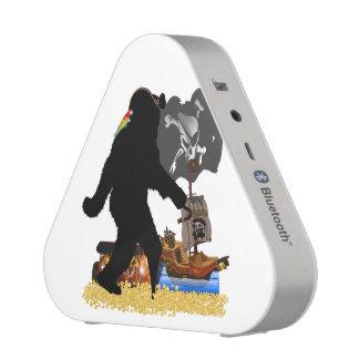 Gone Squatchin' Fer Buried Treasure Bluetooth Speaker