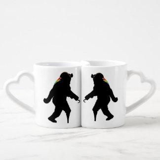 Gone Squatchin' Fer Buried Treasure Couples Mug