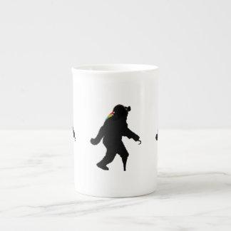 Gone Squatchin' Fer Buried Treasure Porcelain Mug