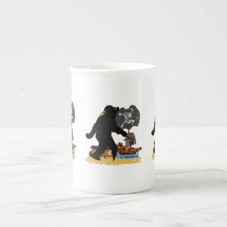 Gone Squatchin' Fer Buried Treasure Tea Cup
