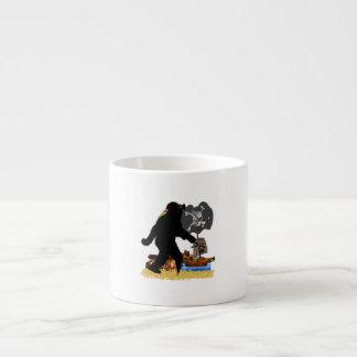 Gone Squatchin' Fer Buried Treasure Espresso Cups