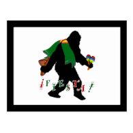Gone Squatchin - Fiesta Squatchin Postcards