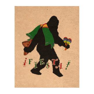 Gone Squatchin - Fiesta Squatchin Photo Cork Paper