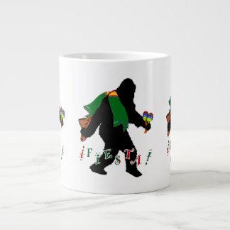 Gone Squatchin - Fiesta Squatchin Extra Large Mug